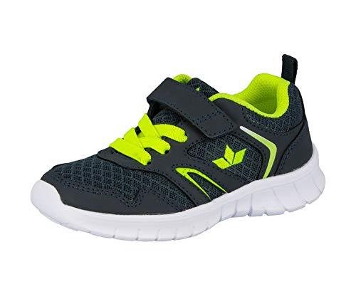 Lico Skip VS Herren Sneaker, Marine/ Lemon, 37 EU