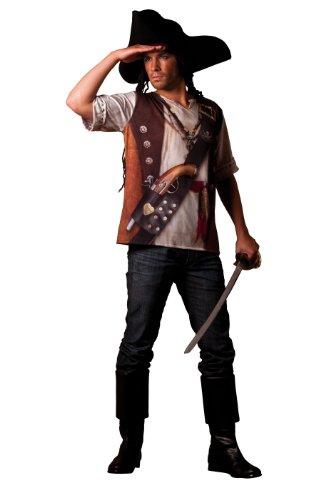 Cesar - B800-007 - Costume - Déguisement - T Shirt Illusion Pirate - Taille 64