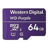 Western Digital microSD 64GB WD Purple 監視カメラ SDXC UHS-1 WDD064G1P0A【国内正規代理店品】