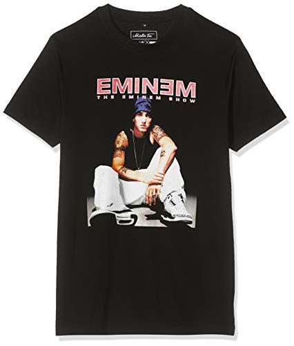 Mister Tee Herren Eminem Seated Show Tee T-Shirt, Schwarz (Black 00007), Medium (Herstellergröße: M)