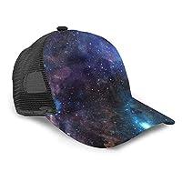 可愛い 宇宙 星柄 星空 star キャップ メンズ レディース ベースボールハット スポーツ帽子 シンプル 野球帽 バイザー ハット カジュアル CAP 帽子 男女兼用 おしゃれ 軽薄 アウトドア