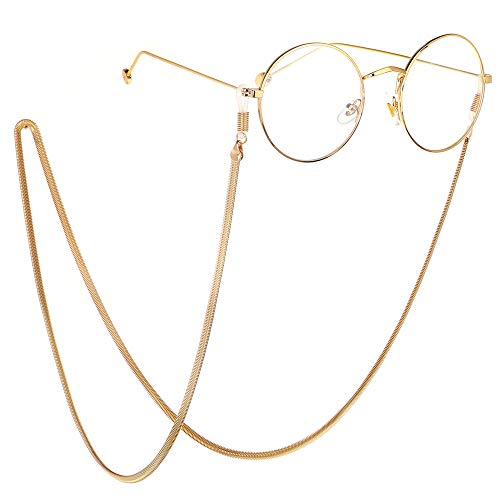 Eyeglass ketting verstelbare bril bril touw Bril Ketting veiligheidsbril Touw Zonnebril Neckband Bril Houder Touw Bril Frame Vrouw Geschikt voor outdoor raften, basketbal, wandelen