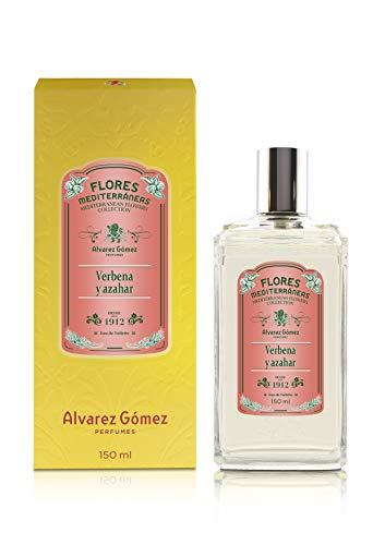 Alvarez Gomez Flores Mediterráneas, Verbena y Azahar, Eau de Toilette, Floral, 150 Mililitros