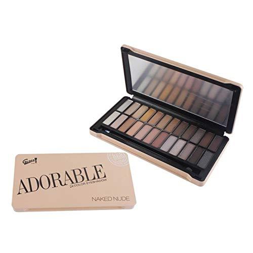 Gloss! Nude Make-up-Palette, 1er Pack (1 x 12 Stück) Geschenk-Box - Make-up Kit