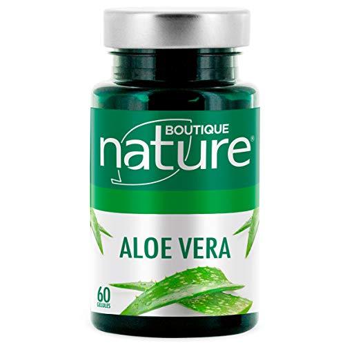 Boutique Nature - Complément Alimentaire - Aloe Vera - 60 Gélules Végétales