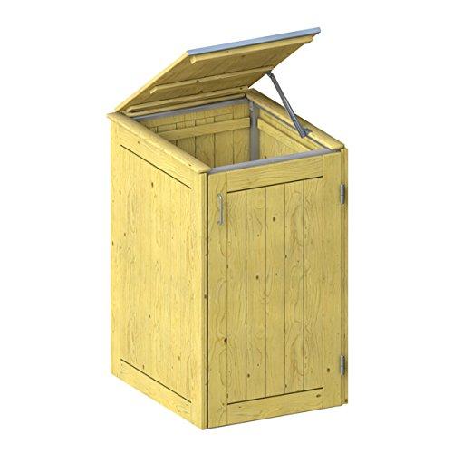 BINTO Nadelholz Mülltonnenbox, Müllbox System 1