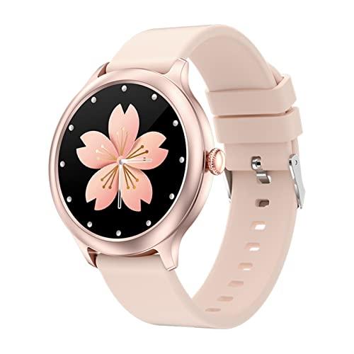 Women's Casual Smart Watch Ritmo Cardíaco Presión Arterial Monitoreo De La Salud del Sueño Control Remoto Cámara De Música Pulsera Inteligente Reloj Deportivo con Recordatorio Fisiológico