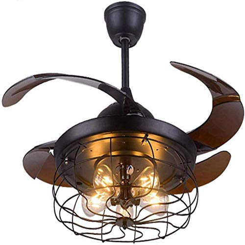 42 Inch Ceiling Fan with Light Industrial Ceiling Fan...