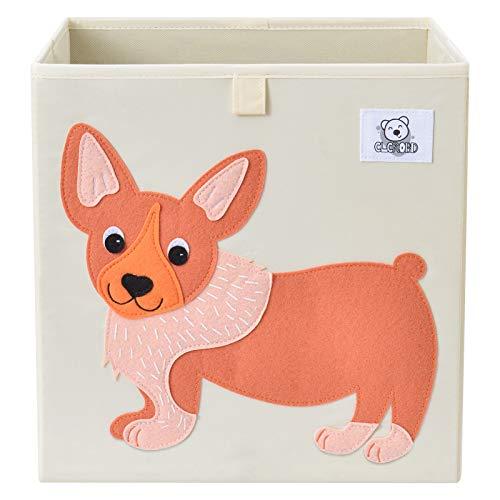 CLCROBD Foldable Animal Cube Storage Bins Fabric Toy Box/Chest/Organizer...
