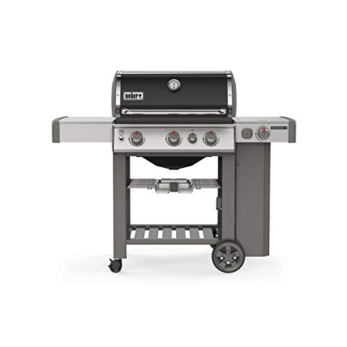 Weber 61012001 Genesis II E-330 3-Burner Liquid Propane Grill, Black - Assembly Free Gas Grill Grills Natural UDS