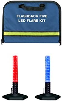 EMI Max 62% OFF Flashback Five LED Flare Red Kit Max 78% OFF 2 Blue Pack