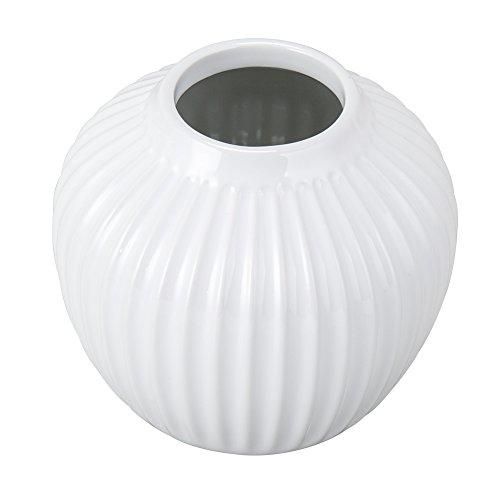 [ケーラー]KahlerハンマースホイフラワーベースSサイズ12.5cm花瓶15375ホワイトHammershoiVaseH125White花びんベース北欧雑貨[並行輸入品]