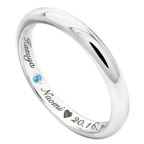j-fourm リング 刻印 可能 指輪 1個 シルバー925 誕生石