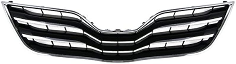 CarPartsDepot Grill Grille Assembly Front Black To1200325 5310106190C0