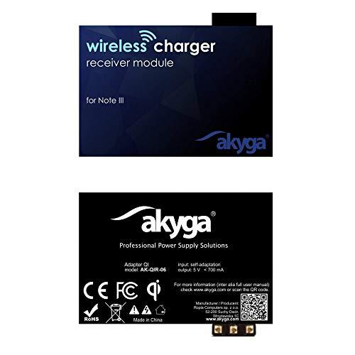 Akyga AK-QIR-06 QI draadloze oplader ontvanger ontvanger voor Note 3