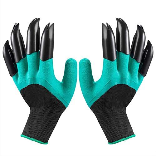 Garden Genie Handschuhe mit Krallen, wasserdichte und atmungsaktive Gartenhandschuhe zum Graben, Pflanzen, Aussaat, Jäten, Rosenpflege und Beschneiden, beste Gartengeschenke für Frauen und Männer