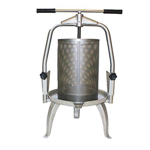 Edelstahl Spindel Presse V25 Inox 20 Liter