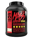 Mutant Mass XXXtreme Gainer – Whey Protein Powder – Build Muscle Size and Strength – High Density Clean Calories – 7 lbs – Triple Chocolate