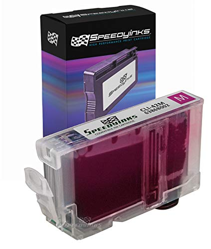Speedy Inks Compatible Ink Cartridge Replacement for Canon 6386B002 CLI-42M / CLI-42 (Magenta)
