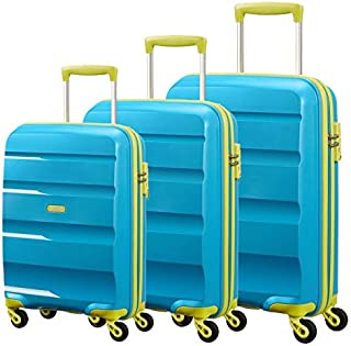 اميريكان توريستر حقائب سفر بعجلات 3 قطع ، ازرق فاتح