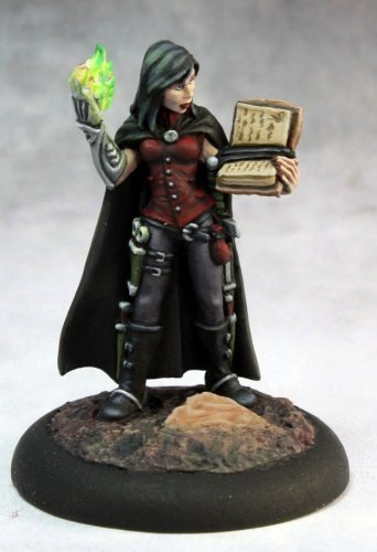Reaper Nonalla Ellinad, Female Elf Wizard 03667 Miniatures 5
