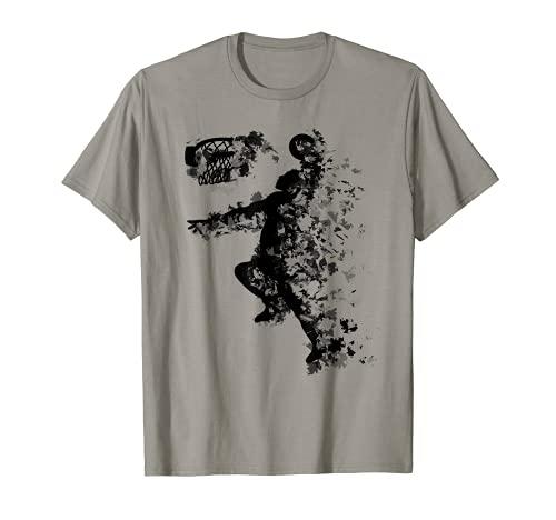 Dunking Basketball Dunk Korbleger T-Shirt