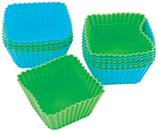 Wilton Square Silicone Baking Cups, 12 Count (B000NBNHHE) | Amazon price tracker / tracking, Amazon price history charts, Amazon price watches, Amazon price drop alerts