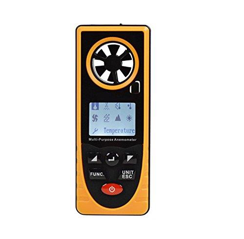 Air Flow anémomètre, YH-THINKING Portable 8 en 1...