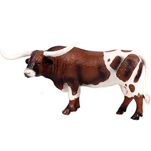 FLORMOON Vaca Figurines Realistic...