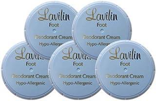 Lavilin ラヴィリン デオドラントクリーム フォーフット 12.5g 【医薬部外品】 5個セット