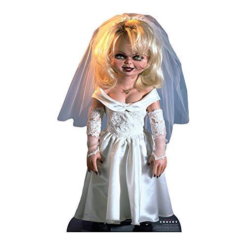 Star Cutouts SC1307 Tiffany Bride of Chucky - Juego para niños, perfecto para Halloween, amigos y fans, multicolor