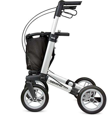 Sunrise Medical Gemino 30 Comfort Outdoor-Rollator silbergrau