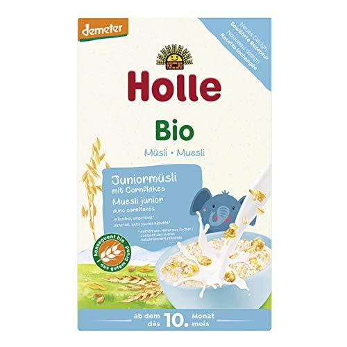 Holle - Bio-Müsli Juniormüsli Mehrkorn mit Cornflakes - 0,25 kg - 8er Pack