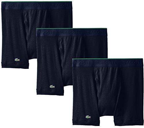 Lacoste Men's 3 Pack Supima Cotton Boxer...