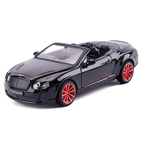 KJAEDL Modelo de Coches para niños Modelo del Coche 1: de 24 Bentley Continental Simulación de aleación Adornos Colección de Juguete for niños 19X8X5.5CM