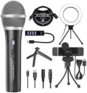 Top 10 Best usb microphone audio technica Reviews
