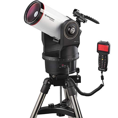 Bresser Messier MCX - Telescopio (Distancia Focal y telescopio Goto EQ/AZ, con Montaje ecuatorial o azimutal, Incluye trípode)