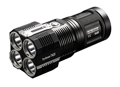 Nitecore TM28-6000 Lumen, integriertes Ladegerät, inkl. Akkus