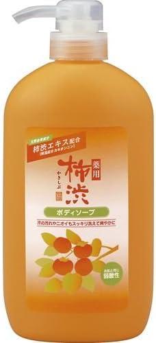 熊野油脂 薬用柿渋ボディソープ