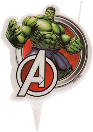 Dekora Innova Vela 2D de Hulk de Los Vengadores, 2x9x5 Centímetros