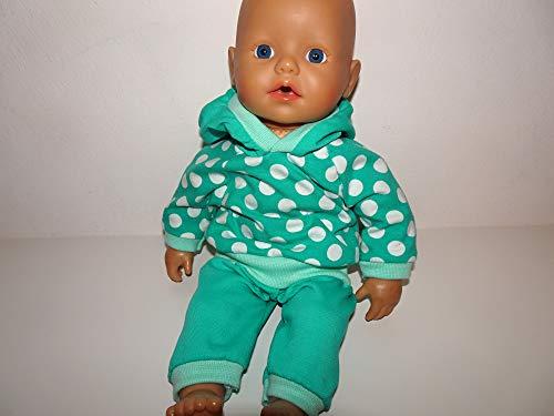 maderegger Pyjama für Puppe Größe 30 - 33 cm handmade