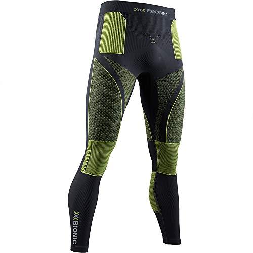 X-BIONIC Energy Accumulator 4.0 Pantalon pour Homme XXL Charbon/Jaune.