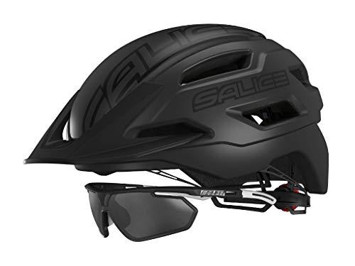Salice fietshelm XS maat 51-56 zwart unisex volwassenen