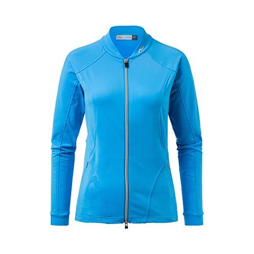 KJUS Women Nicola Midlayer Jacket Blau, Damen Jacke, Größe 42 - Farbe Azure Blue