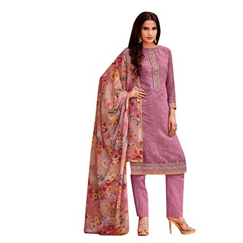 Frauen Formelle Kleidung Gedruckt Dupatta Salwar Kameez Designer Benutzerdefinierte Maß indische muslimische Punjabi Kurti Hose 7419