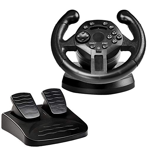 MaiTian Roue de Direction de Course pour ps3 Roue de Direction de Jeu Pc Vibration Joysticks Remote Controller Wheels Drive for Pc