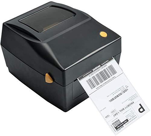 Impresora de etiquetas Impresora térmica de etiquetas Puerto USB Label Printer Máquinas de etiquetado para etiquetas de envío 4x6, Ebay, Etsy, Shopify, Amazon Barcode, impresión de etiquetas Expre