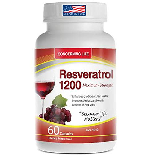 Resveratrol Capsule Supplement with…
