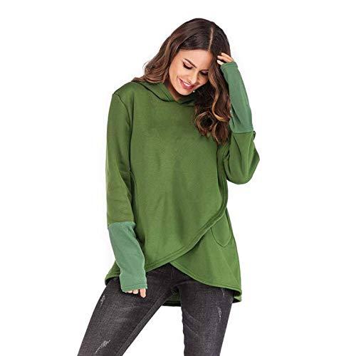 Damskie bluzy bluzy jesień zima Plus rozmiar z długim rękawem i kieszonkowym swetrem bluza z kapturem damska na co dzień ciepła bluza z kapturem