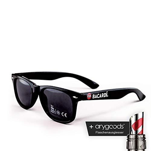 Bacardi Glas Gläser Brille Black Edition Gastro Bar